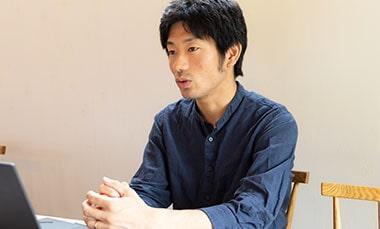独立・開業を目指す方へメッセージを送る株式会社Ponnufの山口拓也さんの写真