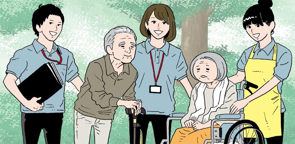 必要な人員からサービスの単価まで。制度で定められている介護業界のルール