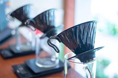 エウレカコーヒーロースターズで使用してるコーヒー器具の写真
