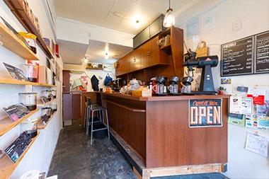 エウレカコーヒーロースターズの店内写真