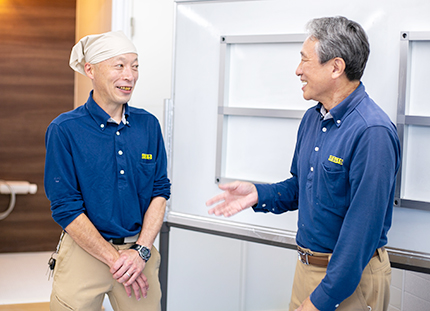 後藤オーナーと小林社長
