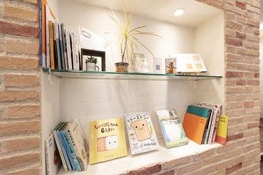 「親子で絵本を読める」ことをお店のコンセプトに