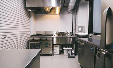 KitchenBASE神楽坂店の内観の写真