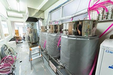 醸造設備の設計に関してはどのように進めたのですか