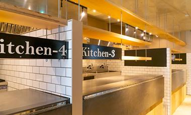 KitchenBASE(キッチンベース)中目黒店の内観写真