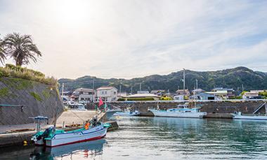 荒木宏一さんが利用する港の写真