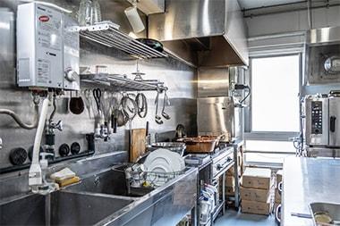 旅するコンフィチュールのキッチンスペース写真